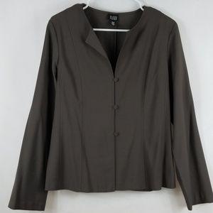 Eileen Fisher Dark Gray Blazer Size M